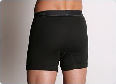 2xist Essential Boxer Brief Black