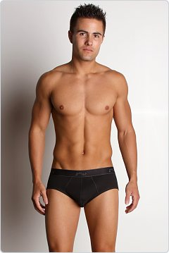 2xist Essential Contour Pouch Brief Black