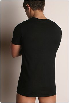 C-IN2 Core Crew Neck Pima Tee Black
