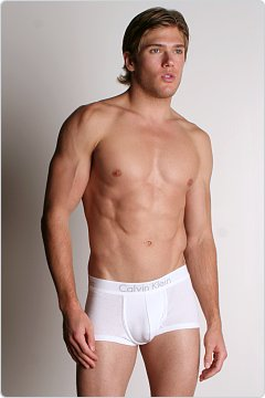 Calvin Klein Body Low Rise Trunk White