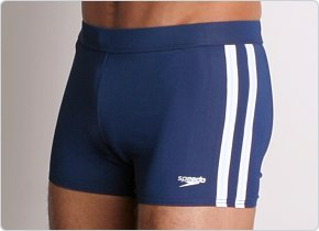 Speedo Shoreline Square Leg Navy