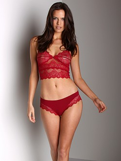Only Hearts So Fine Hipster With Lace Ruby