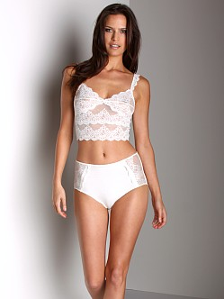 Only Hearts So Fine Lace High Panty Creme
