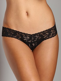 Hanky Panky Low Rise Thong Black