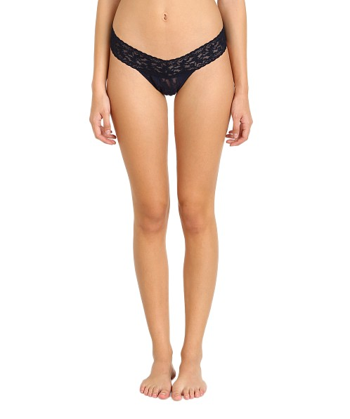 Hanky Panky Low Rise Thong Navy