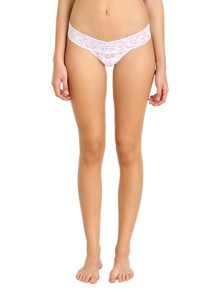 Complete the look: Hanky Panky Low Rise Thong White