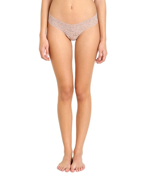 Hanky Panky Low Rise Thong Taupe