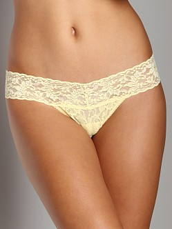 Hanky Panky Low Rise Thong Butter Cup