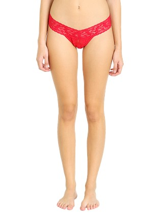 Hanky Panky Low Rise Thong Red