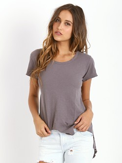 LNA Clothing Banks Tee Dark Heather Grey