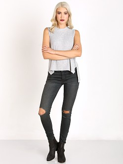 Free People Skinny Destroyed Jean Patsy