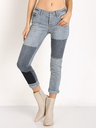 Free People Patched and Relaxed Skinny Camp