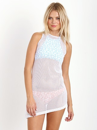 You may also like: Nookie Holla Mesh Racer Singlet Dress White