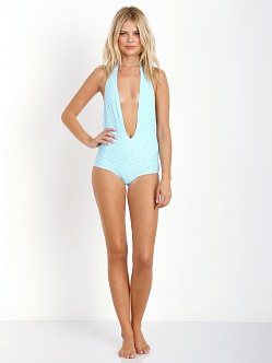 Nookie Bali Plunge One Piece Aqua