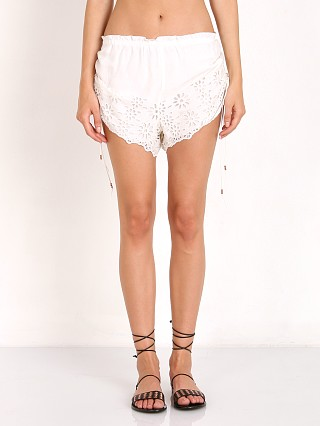 Complete the look: Winston White Capri Floral Eyelet Short