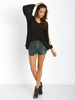 Lovers + Friends Daydream Blouse Black