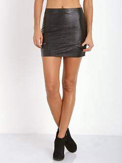 Lovers + Friends Good to be Bad Mini Skirt Black