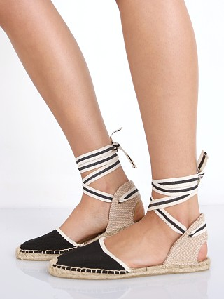 Soludos Classic Sandal Woven Black