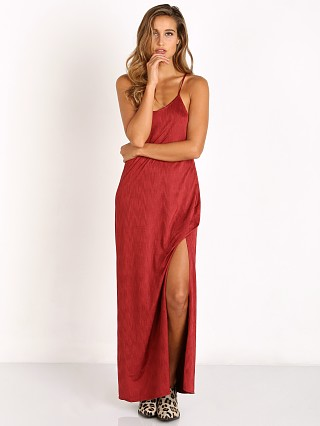 Free People She Moves Maxi Slip Berry