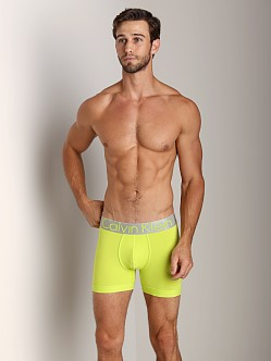 Calvin Klein Steel Micro Boxer Brief Citrine Gem