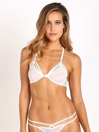 Thistle & Spire Star Crossed Front Bra White