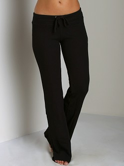 Splendid Thermal Drawstring Pant Black