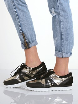 SOL SANA Skylar Runner Black/Gold