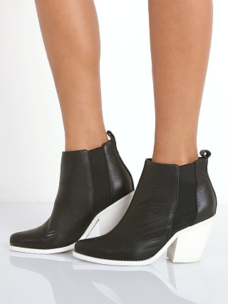 SOL SANA Toni Boot Details Black/White