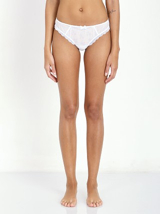 Free People Lacey Thong White