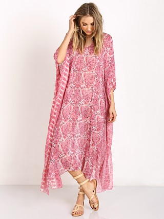 Love Shack Fancy Athena Caftan Dusty Pink