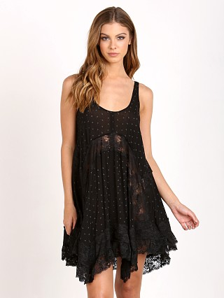 Free People She Swings Slip Black Combo