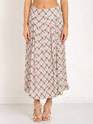 Free People Printed Swept Away Culottes Ivory Combo
