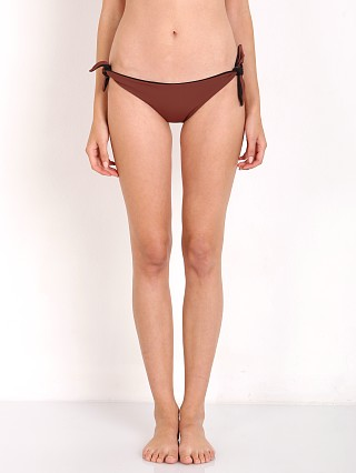 Solid & Striped The Jane Bikini Bottom Brown Black