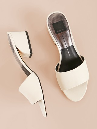 Dolce Vita Rilee Mule Ivory Leather