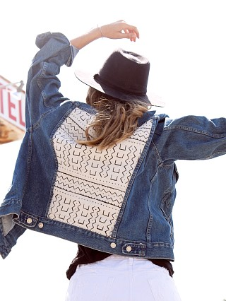 You may also like: Gull + Marie Denim Jacket Banta Mud Cloth