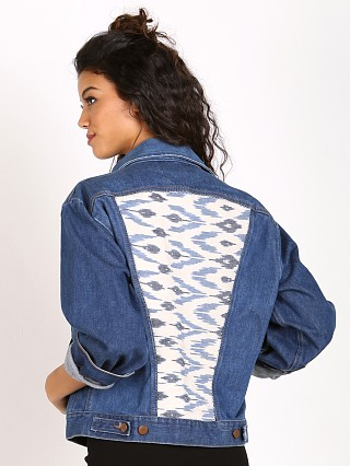 Gull + Marie Denim Jacket Auadi Ikat