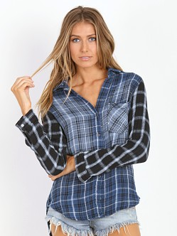 Bella Dahl Contrast Button Down Vintage Wash