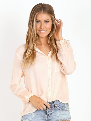 Bella Dahl Seams Back Shirt Rose Wine