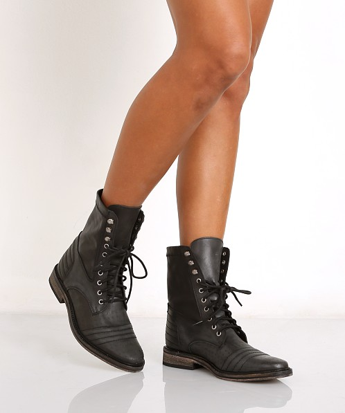 0fca58c182426 Free People Sounder Lace Up Boot Black OB445283 - Free Shipping at Largo  Drive