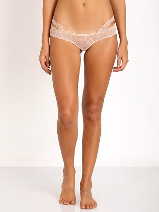 Beach Bunny Love Haus Impulse Lace Thong Nude