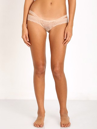 Beach Bunny Love Haus Impulse Lace Cheeky Panty Nude