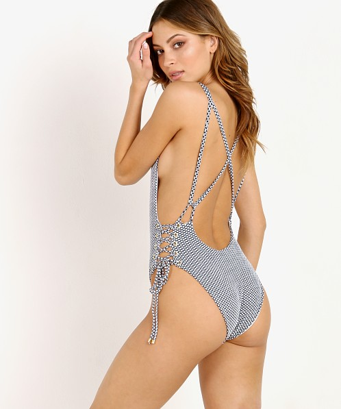 Blue Life Breezy One Piece Seersucker