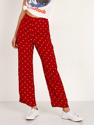 Model in dippin dot Flynn Skye Parker Pant