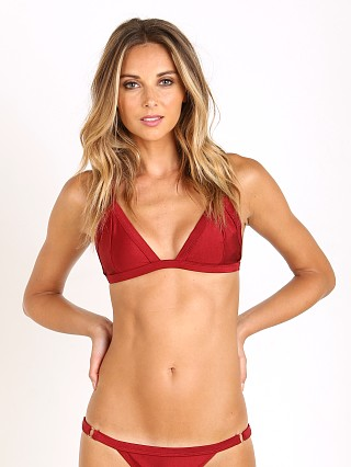 Somedays Lovin Rust Sky Triangle Bikini Top