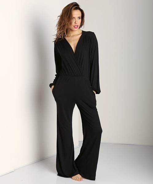 Nightcap BluRose Jumpsuit Black