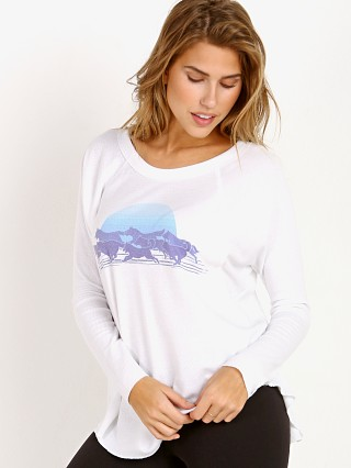 Model in white All Things Fabulous Wolf Pack Thermal