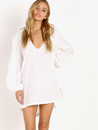 Suboo De Coup Beach Shirt White
