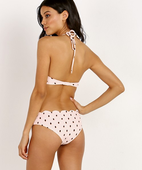 Marysia Mott Maillot Cut Out One Piece Pink/Black