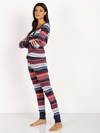 Splendid Thermal & Legging PJ Set Fresh Fairisle