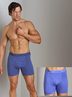 Calvin Klein Cotton Stretch 2 Pack Boxer Brief Nuvo & Columbia